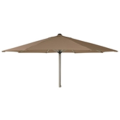Alexander Rose 2.5m Stainless Steel Parasol - Taupe