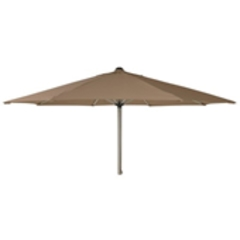 Alexander Rose 3.0m Stainless Steel Parasol - Taupe