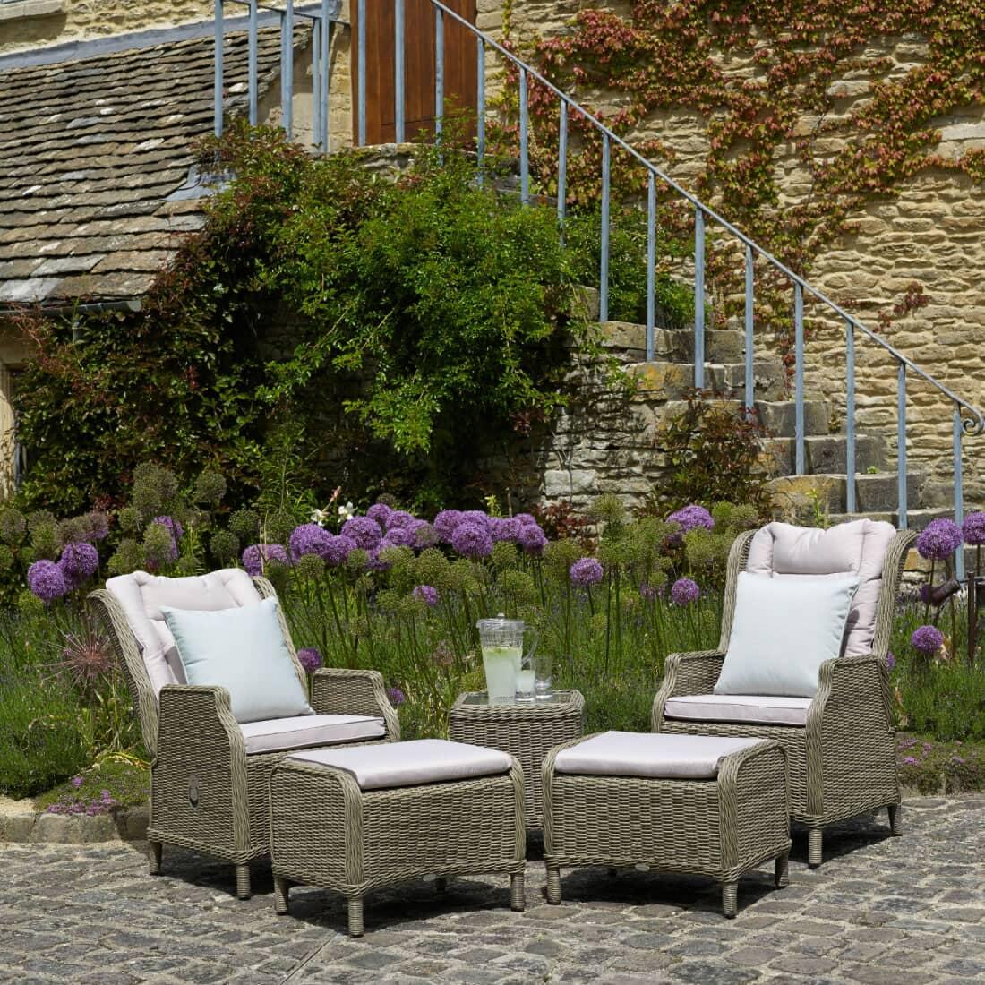 bramblecrest oakridge 2 recliners footstools and coffee. Black Bedroom Furniture Sets. Home Design Ideas