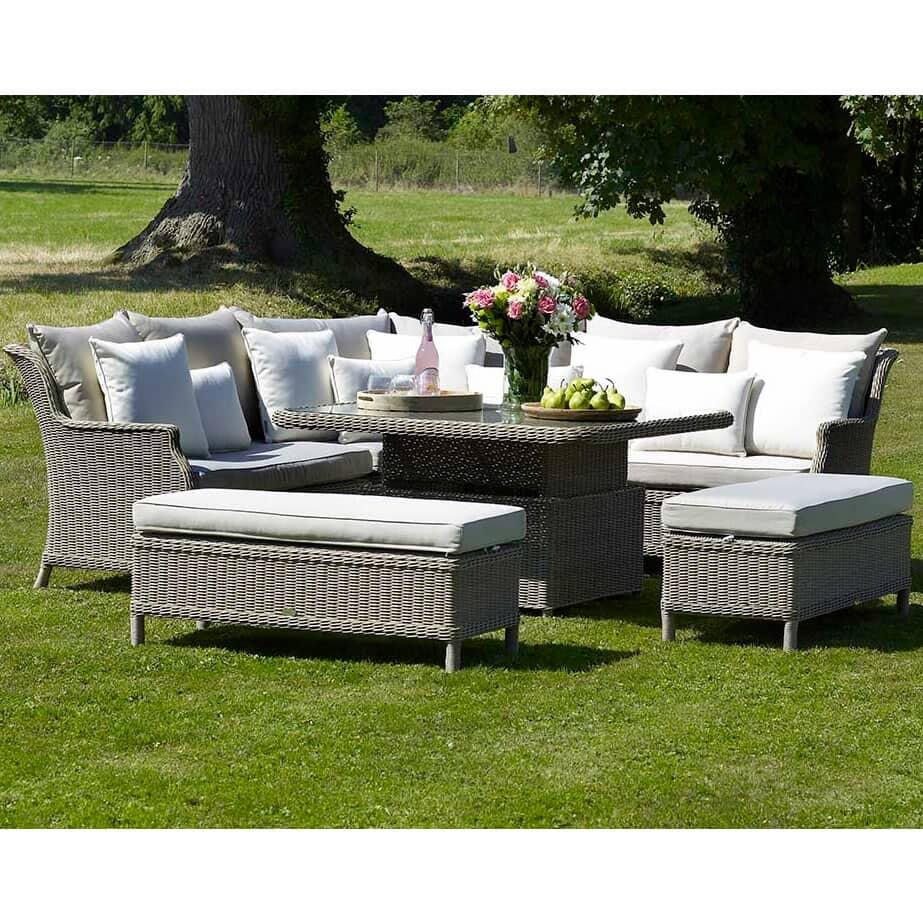 bramblecrest oakridge modular sofa with square adjustable. Black Bedroom Furniture Sets. Home Design Ideas