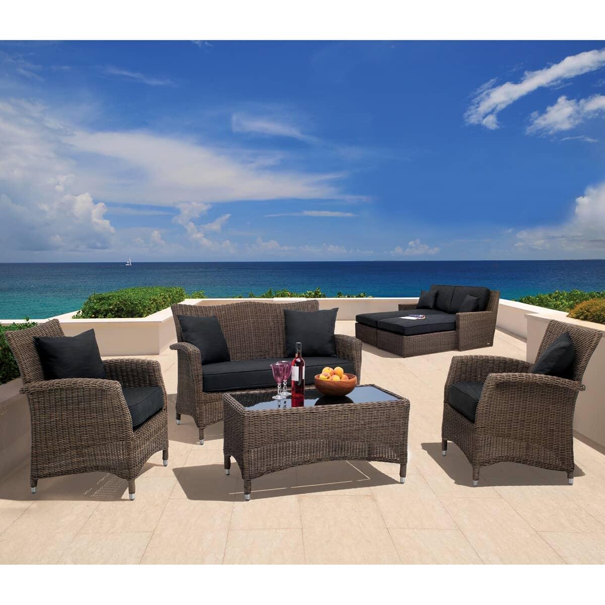 kettler lakena lounge set rattan 03044302100c garden. Black Bedroom Furniture Sets. Home Design Ideas