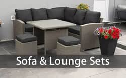 sofa and lounge garden furniture