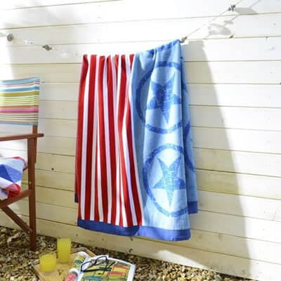 Deyongs Beach Towels Hudson