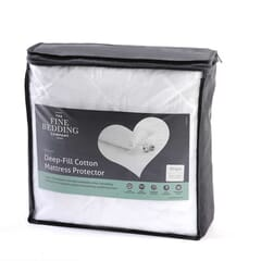 Fine Bedding CoDeep Fill Cotton Protectors