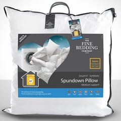 Fine Bedding CoSpundown Square Pillow