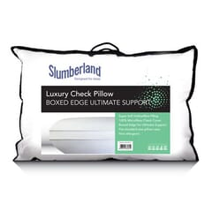 SlumberlandCheck Microfibre Box Pillow