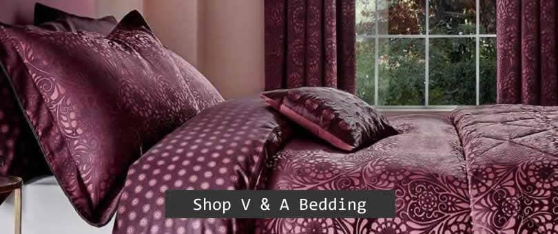 v and a bedlinen