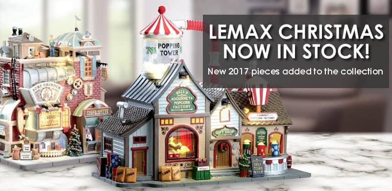 lemax christmas now in stock