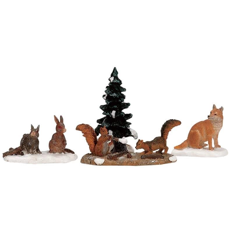 Lemax - Woodland Animals Set Of 4