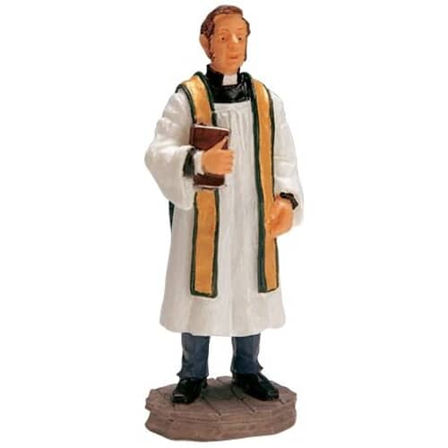 Lemax - Reverend Smythe