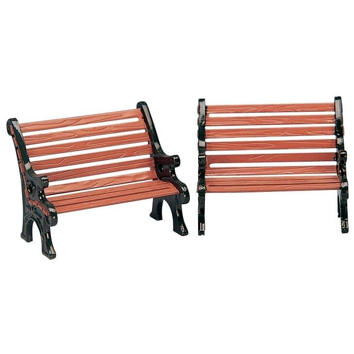 Lemax - Park Bench Set Of 2