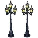 Lemax - Old English Street Lamp Set Of 2