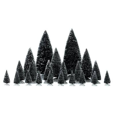 Lemax - Assorted Pine Trees Set Of 21