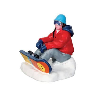 Lemax - Christmas Snowboarding Breather