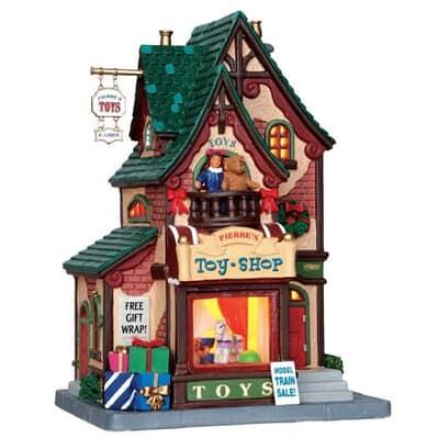 Lemax - Pierres Toy Shop B/O LED