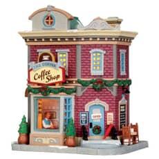 Lemax - The Corner Coffee Shop