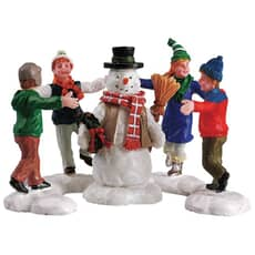 Lemax - Ring Around The Snowman Set Of 3