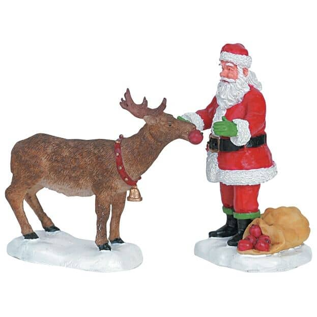 Lemax - Reindeer Treats Set Of 2