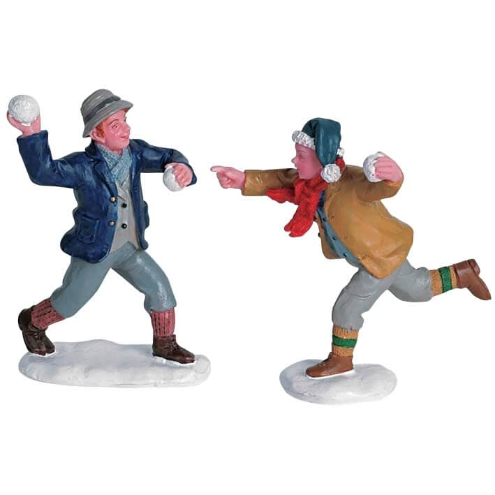 Lemax - Snowball Fun Set Of 2