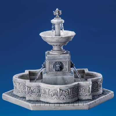 Lemax - Modular Plaza-Fountain With 4.5V Adaptor
