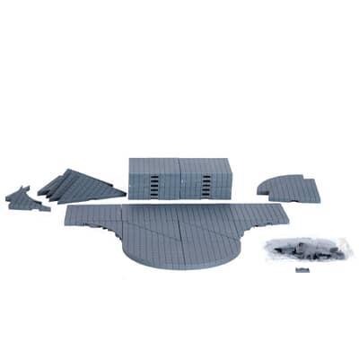 Lemax - Plaza System (Grey Variety) - 32 Pcs