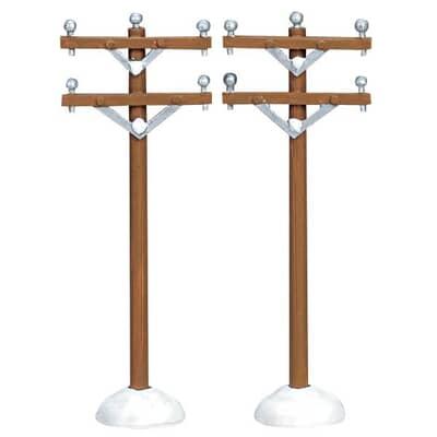 Lemax - Telephone Poles