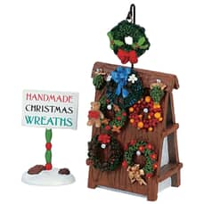 Lemax - Wreath Display Set Of 2
