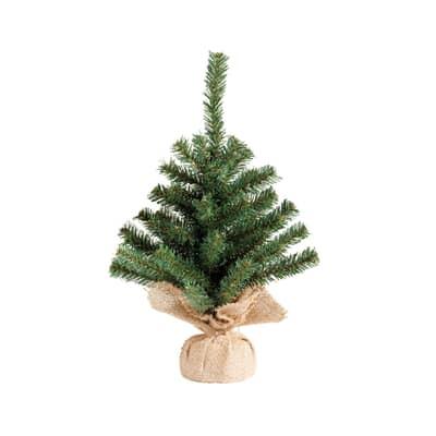 Kaemingk 45cm Mini Tree In Jute Bag