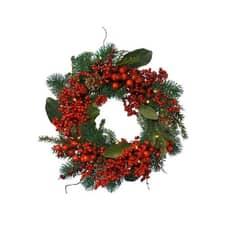 Kaemingk 40cm Deco wreath + Berries