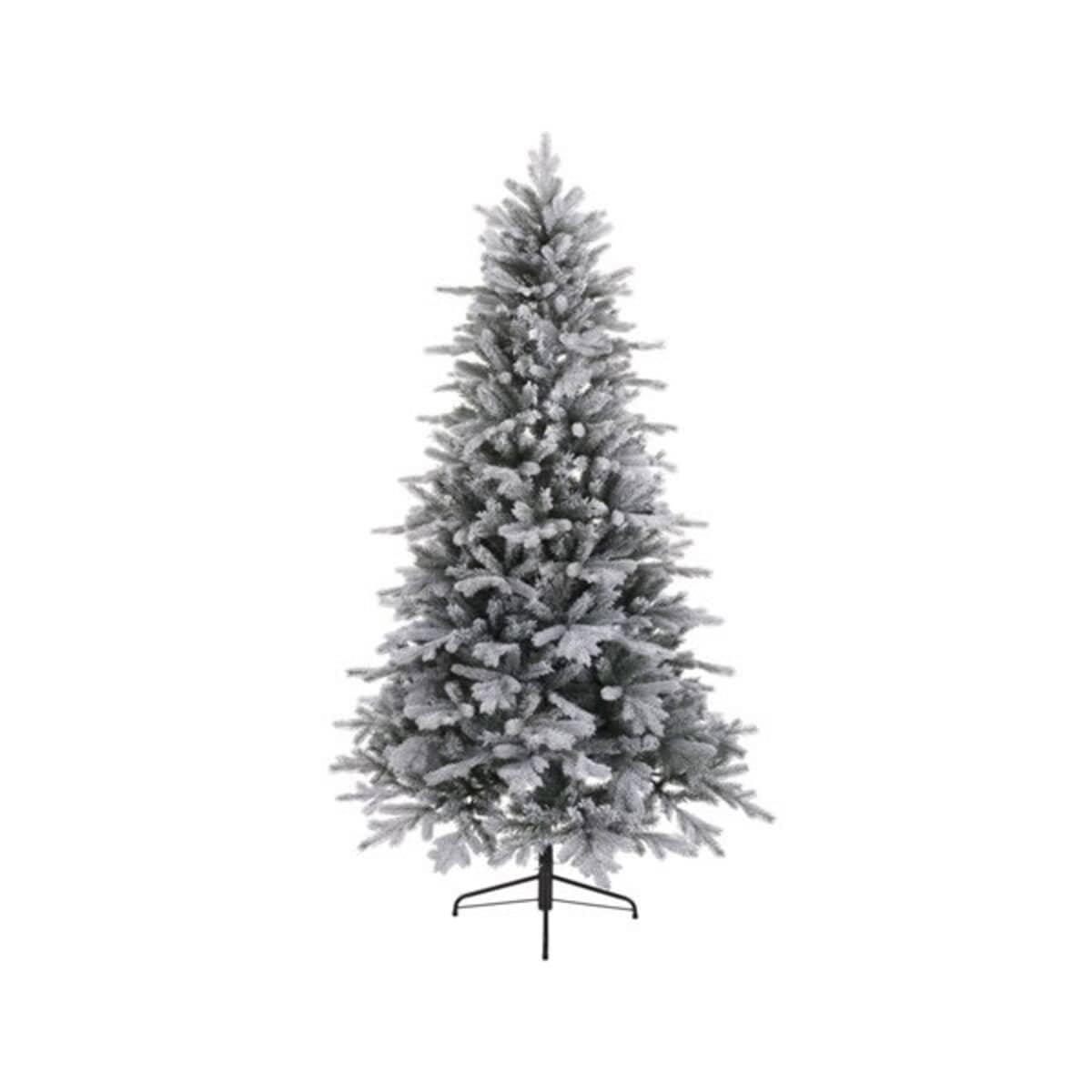 kaemingk frosted vermont spruce tree 150cm 693540. Black Bedroom Furniture Sets. Home Design Ideas