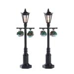 Lemax - Old English Lamp Post Set Of 2 B/O (4.5V)