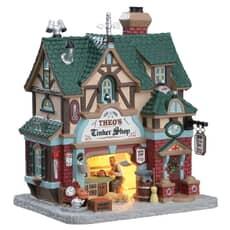 Lemax - Theos Tinker Shop (B/O LED)