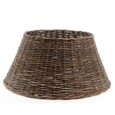Kaemingk 70cm Willow Xmas Tree Ring-Brown