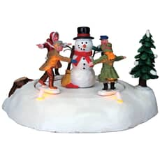 Lemax - The Merry Snowman Battery-Operated (4.5V)