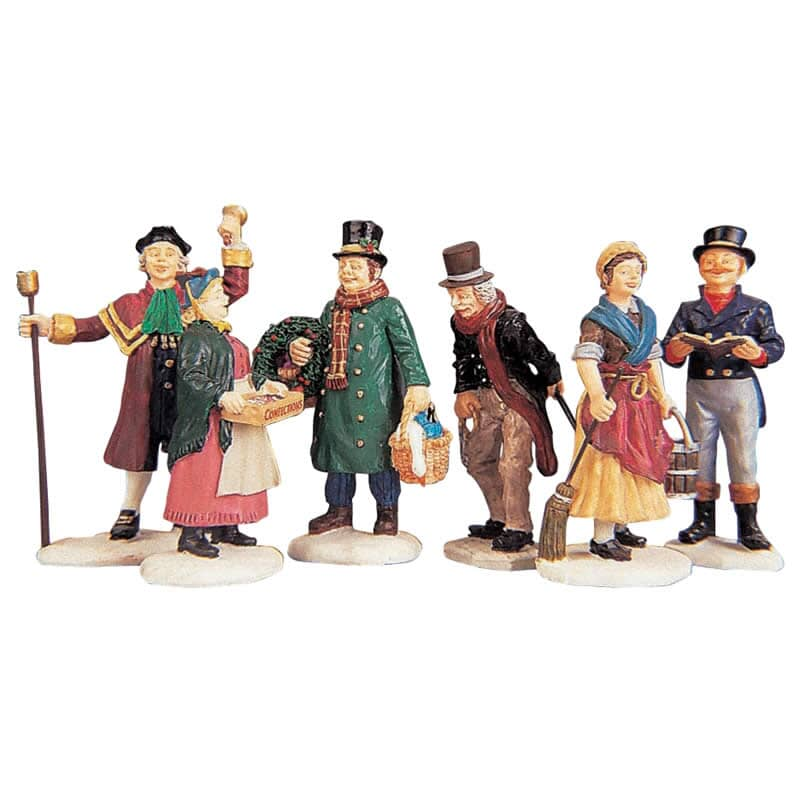 Lemax - Village People Figurines Set of 6