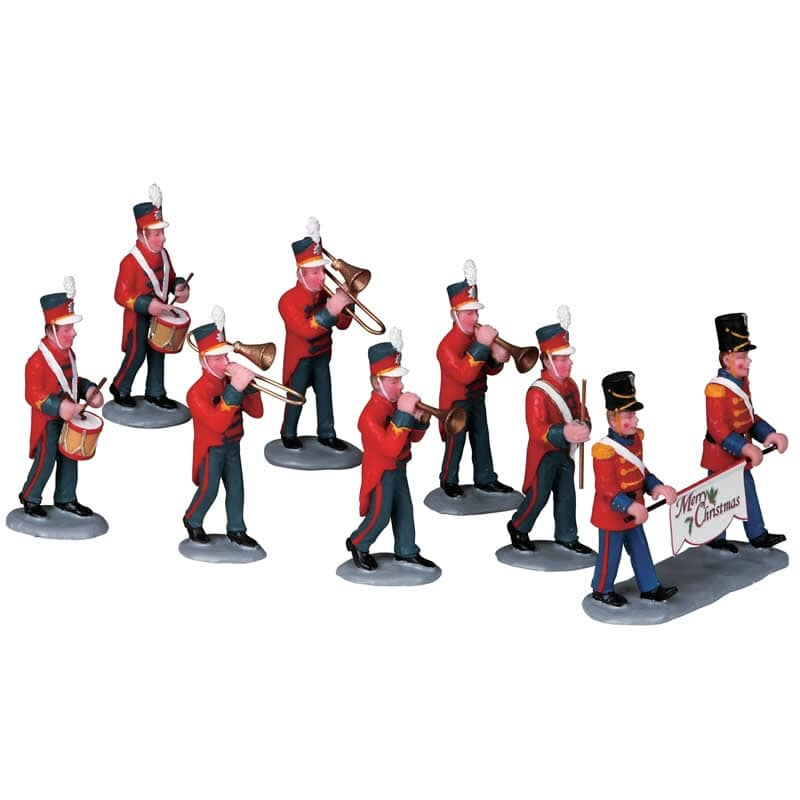 Lemax - Christmas Parade Marching Band Set Of 8